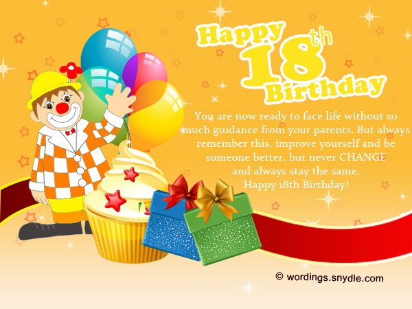 birthday message for a debutant friend ; 18th-birthday-messages-and-greetings
