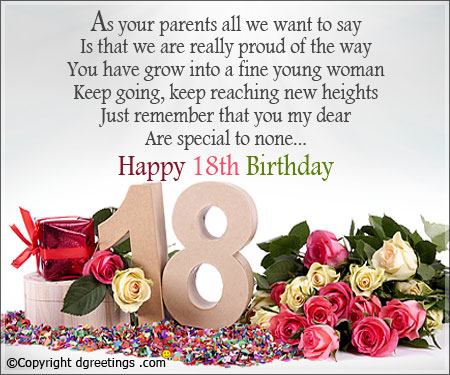 birthday message for a debutant friend ; 18thbday_card01