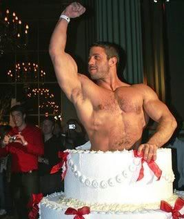 birthday message for a gay friend ; CakeCarlo1