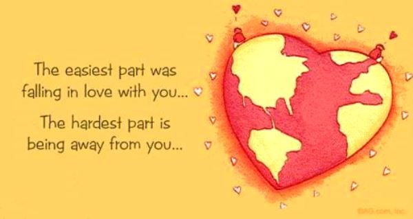 birthday message for a long distance boyfriend ; long-distance-love-quotes-and-sayings