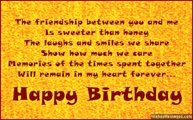birthday message for a new friend ; Cute-birthday-message-for-friends