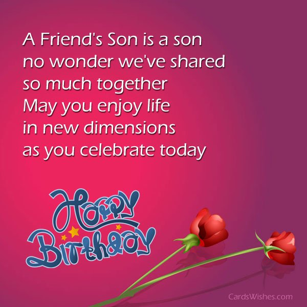 birthday message for a new friend ; birthday-messages-for-friends-son