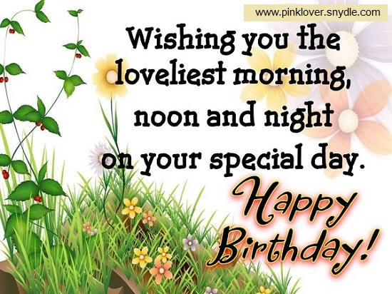birthday message for a new friend ; birthday-wishes-for-a-friend-flowers
