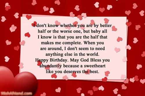 birthday message for a sweetheart ; 699-birthday-wishes-for-boyfriend