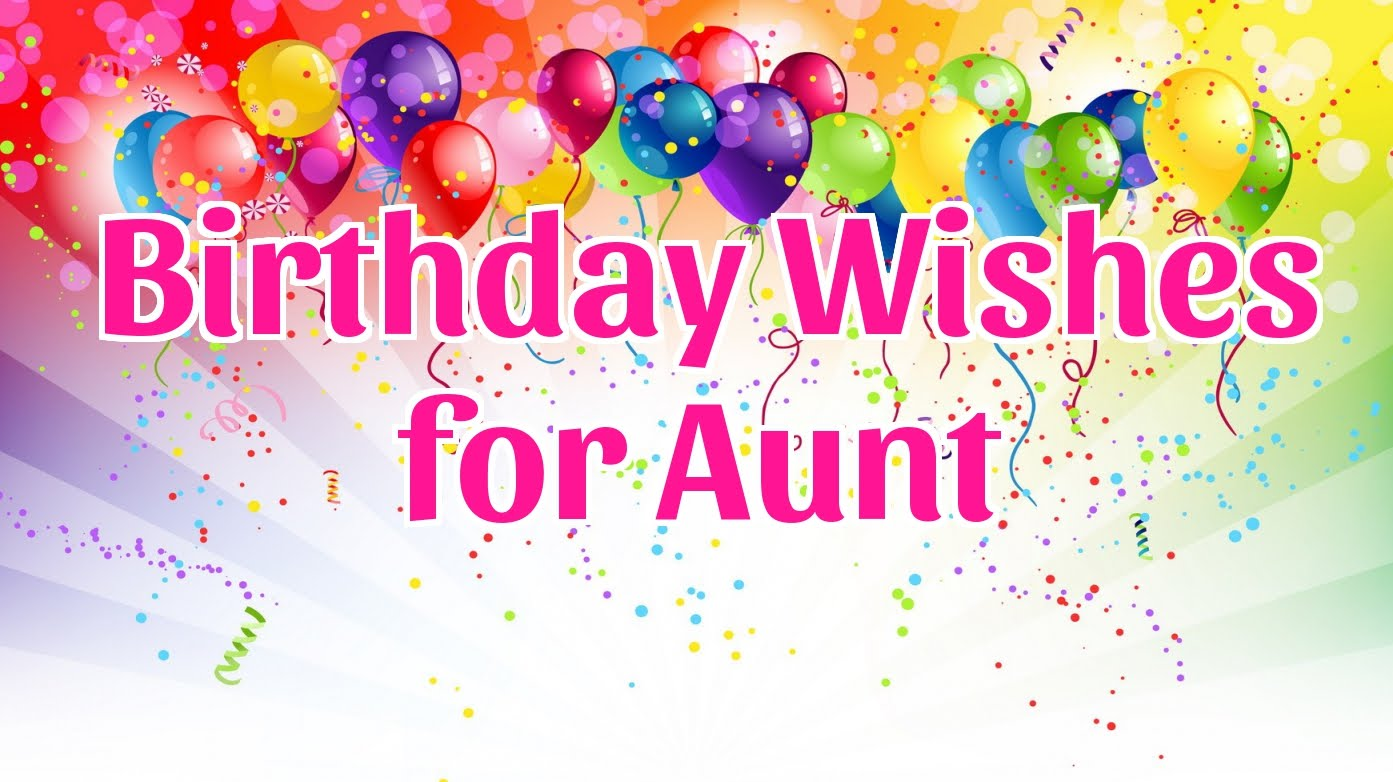 birthday message for aunt ; maxresdefault