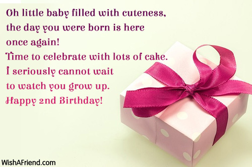 birthday message for baby nephew ; 567-2nd-birthday-wishes