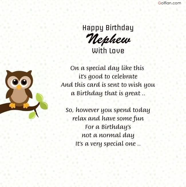 birthday message for baby nephew ; Beautiful-E-Card-Birthday-Wishes-For-Nephew