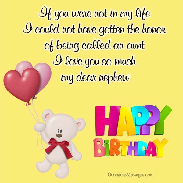 birthday message for baby nephew ; Birthday-Wishes-for-Nephew-From-Aunt