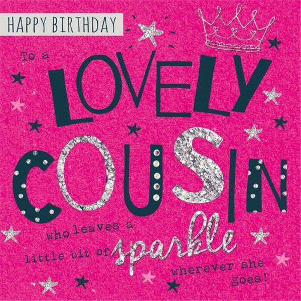 birthday message for cousin sister ; Lovely-happy-birthday-cousin-images-1