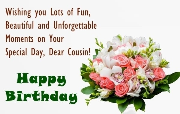 birthday message for cousin sister ; birthday-wishes-for-cousin-sister-2-min