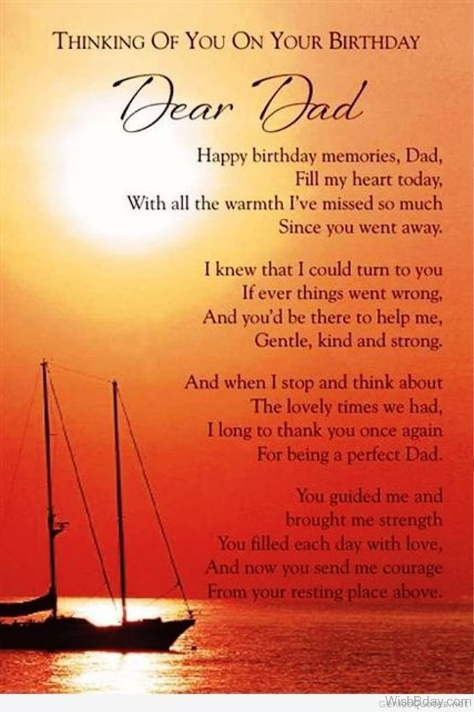birthday message for dad in heaven ; Thinking-Of-You-On-Your-Birthday