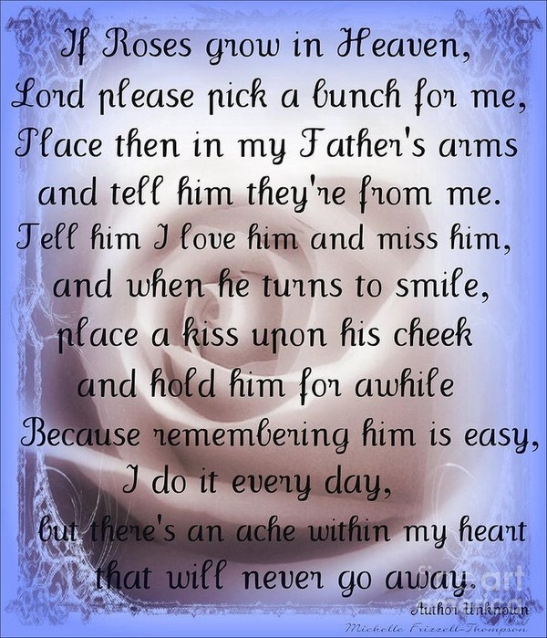 birthday message for dad in heaven ; birthday-wishes-for-a-friend-in-heaven