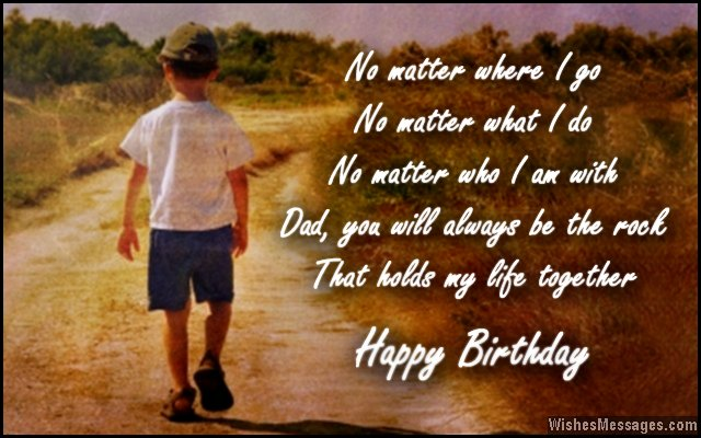 birthday message for father ; Birthday-cad-wish-for-dad