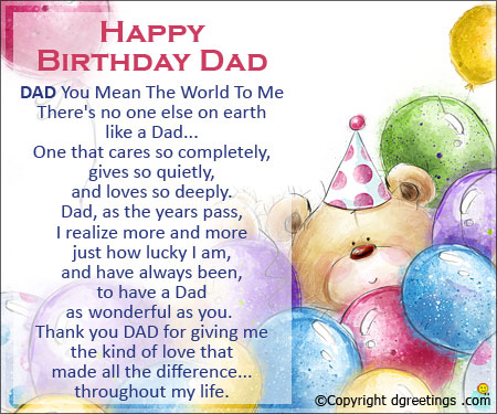 birthday message for father ; happy-birthday-greeting-cards-for-dad-dad-you-mean-the-world-birthday-cards-for-father