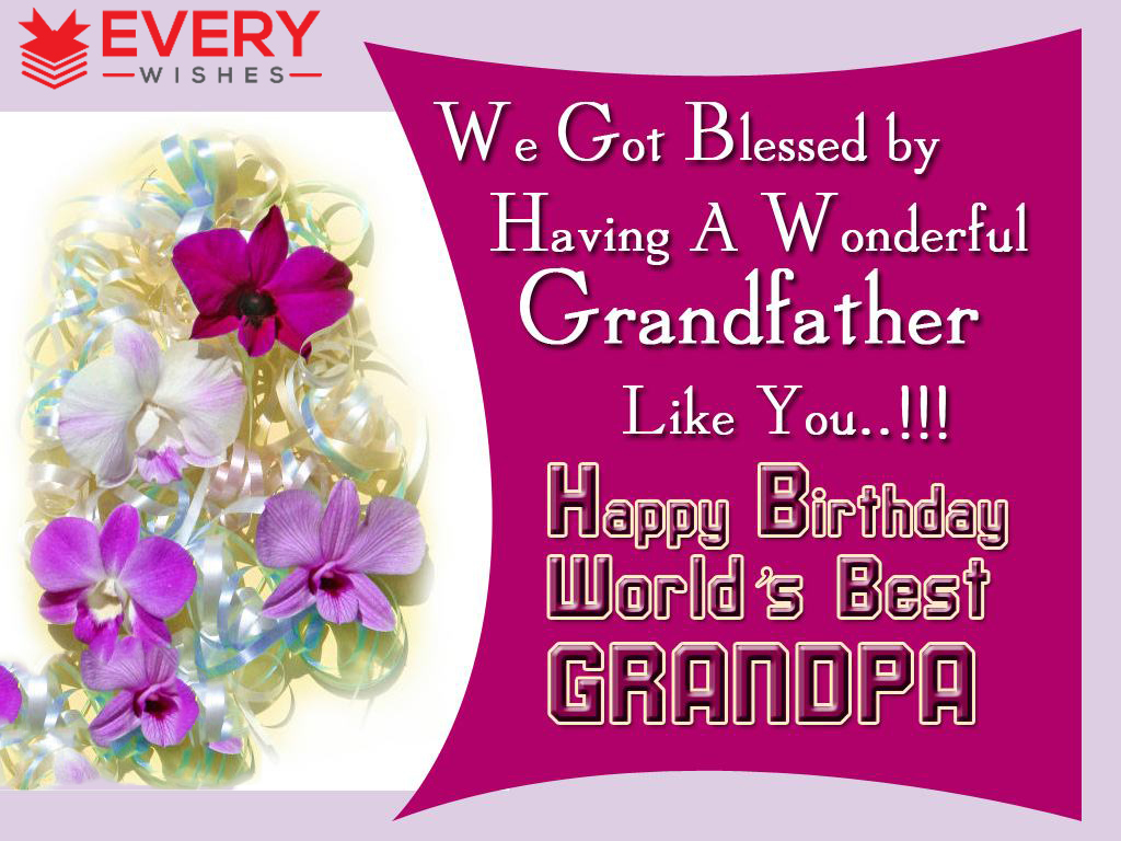 birthday message for grandparents ; 5-21