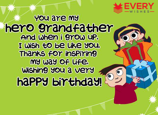 birthday message for grandparents ; 7-1