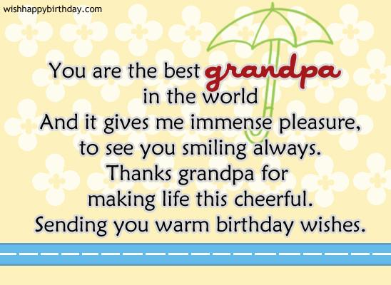 birthday message for grandparents ; birthday-wishes-for-grandfather-poem-you-are-the-best-grandpa-in-the-world