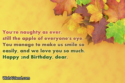 birthday message for kid son ; 556-2nd-birthday-wishes