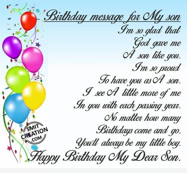birthday message for kid son ; Nice-Birthday-Wishes-for-Son-from-Mother-for-Facebook-with-Images-1