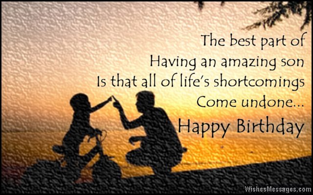 birthday message for kid son ; Sweet-birthday-wishes-to-son-from-father-and-mother
