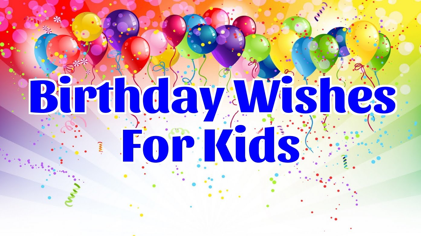 birthday message for kids ; maxresdefault