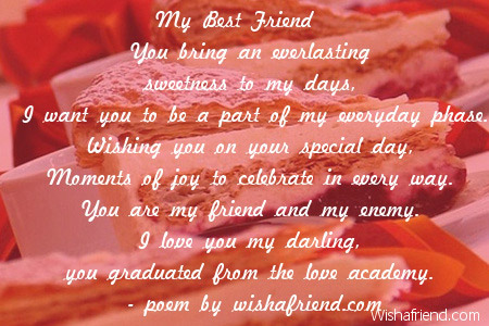 birthday message for my friend girl ; 2494-girlfriend-birthday-poems