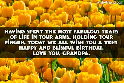 birthday message for my grandfather ; 1995-grandfather-birthday-wishes