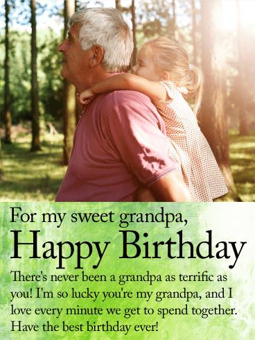 birthday message for my grandfather ; 605ff6c5322798bd7e2cd94eebf091ce