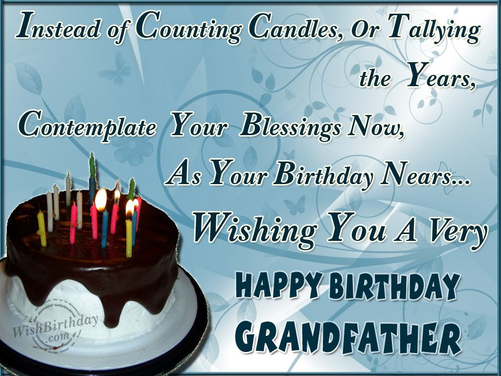 birthday message for my grandfather ; wishing-you-a-very-happy-birthday-grandfather
