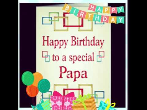 birthday message for papa ; hqdefault