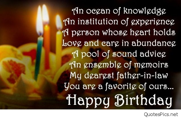 birthday message for papa in hindi ; Sweet-birthday-wishes-for-father-in-law