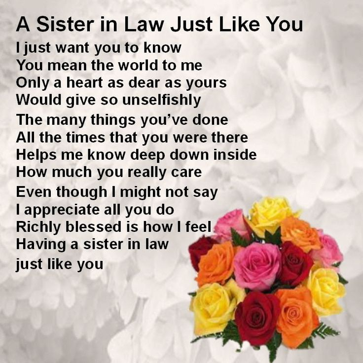 birthday message for sister in law ; a1c242cbded852b4d5b8825739e65b38--sister-poems-flower-designs