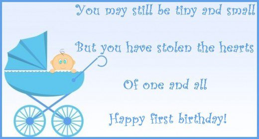 birthday message for son 1 year old ; 7820725_f520