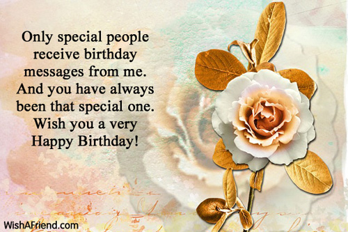birthday message for special one ; 921-happy-birthday-wishes