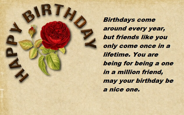 birthday message for special one ; Birthday-Wishes-Message-For-Friend