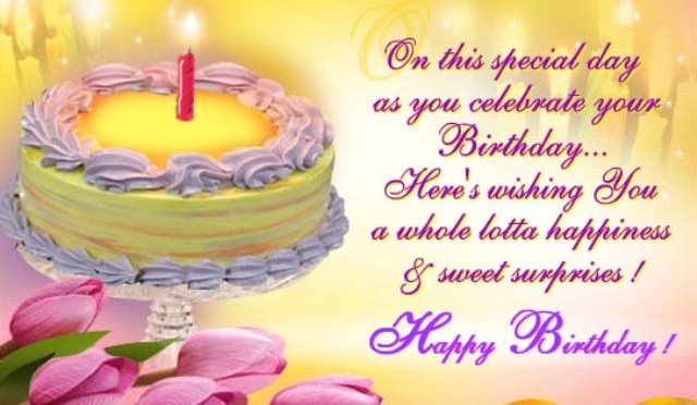 birthday message for special one ; Excellent-Birthday-Message-With-Wishes-E-Card-s7