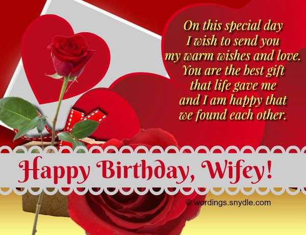 birthday message for wife tagalog ; romantic-birthday-wishes-for-wife