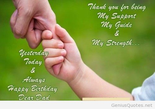 birthday message from father to daughter ; 113