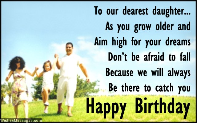 birthday message from father to daughter ; Beautiful-birthday-card-wish-for-daughter-from-mom-and-dad