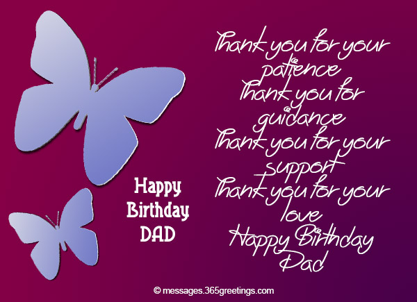 birthday message from father to daughter ; birthday-wishes-for-dad-11