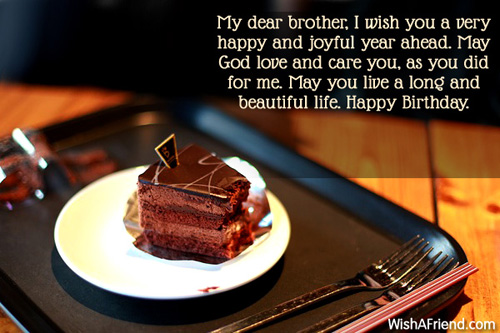 birthday message to a dear brother ; 155-brother-birthday-wishes