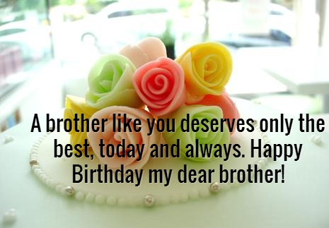 birthday message to a dear brother ; Birthday-wishes-For-Brother