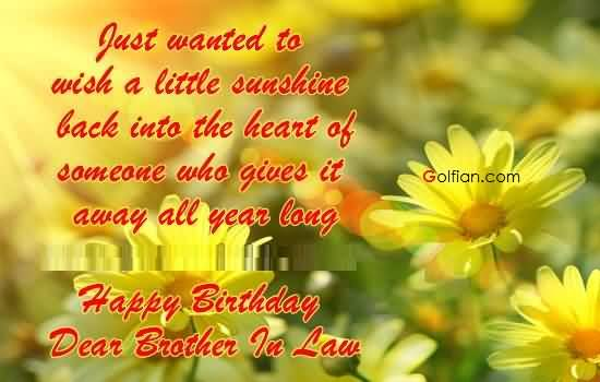 birthday message to a dear brother ; Lovely-Flower-Birthday-Wishes-For-Dear-Brother-In-Law-E-Card