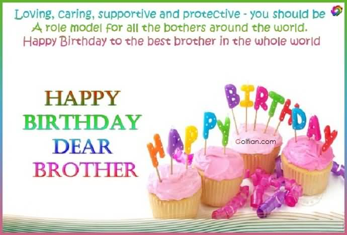 birthday message to a dear brother ; Sweet-Birthday-Wishes-For-Elder-Brother-E-Card