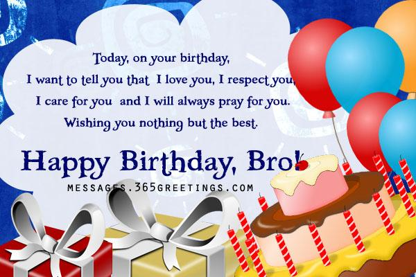 birthday message to a dear brother ; happy-birthday-brother