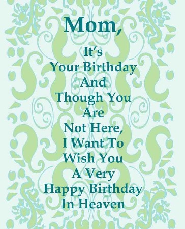 birthday message to a deceased mother ; Mom%252BBirthday%252Bin%252BHeaven