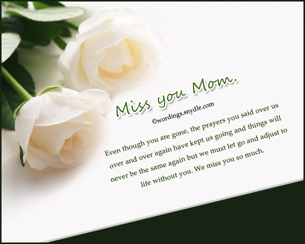 birthday message to a deceased mother ; best-miss-you-messages-for-died-mother