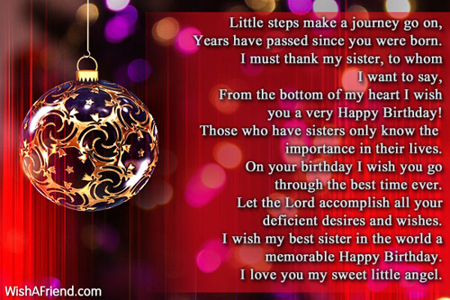birthday message to a little sister ; 11689-sister-birthday-messages