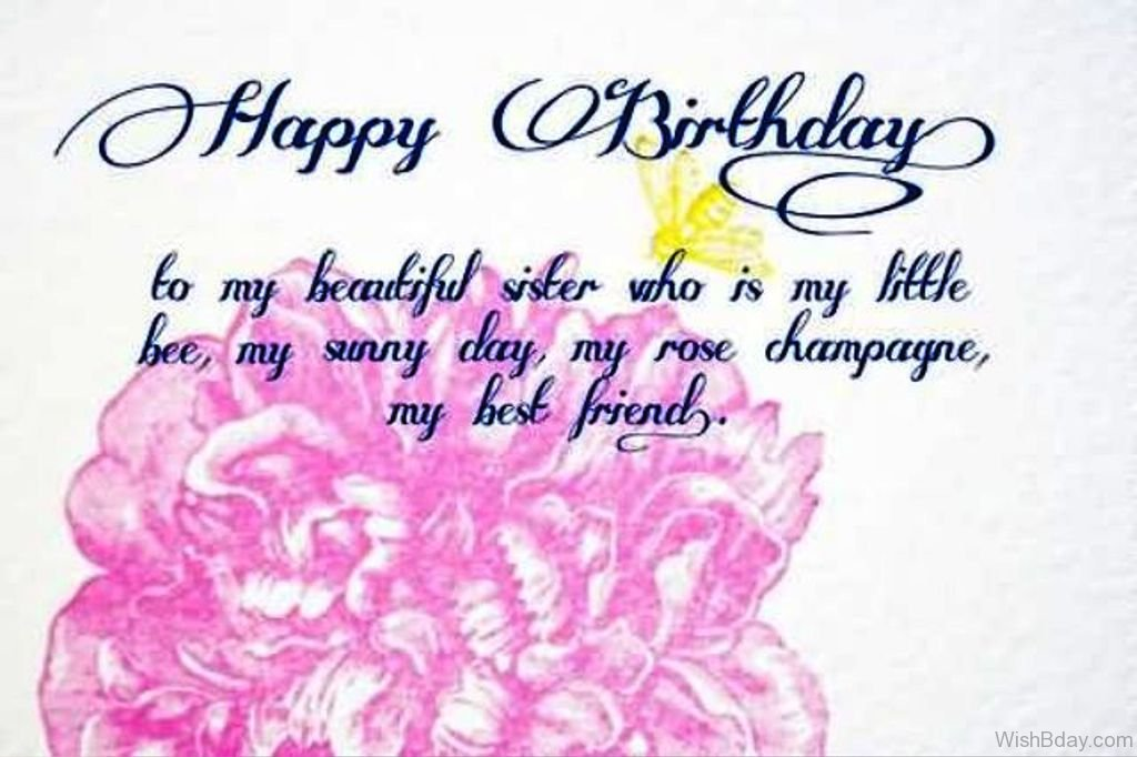 birthday message to a little sister ; Happy-Birthday-To-My-Besutiful-Sister-Who-Is-My-Little-Bee