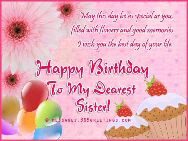 birthday message to a little sister ; sister-happy-birthday-wishes